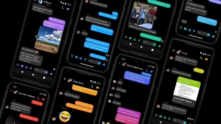 Dark Mode_Facebook Messenger